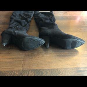 Express Shoes - Express | Black Knee High Boots